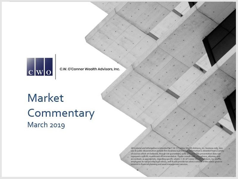 CWO Monthly Market Commentary March 2019