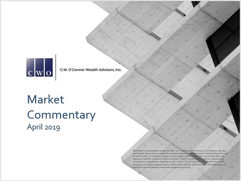 April 2019 Market Commentary
