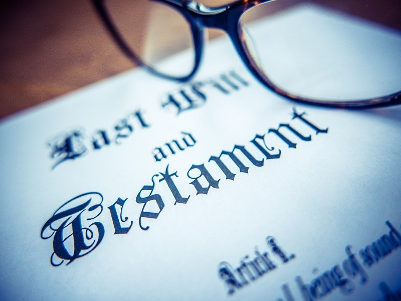 Protect your assets with a will.