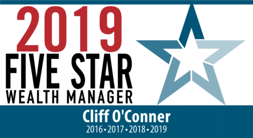Cliff O'Conner 2019 Five Star Wealth Manager