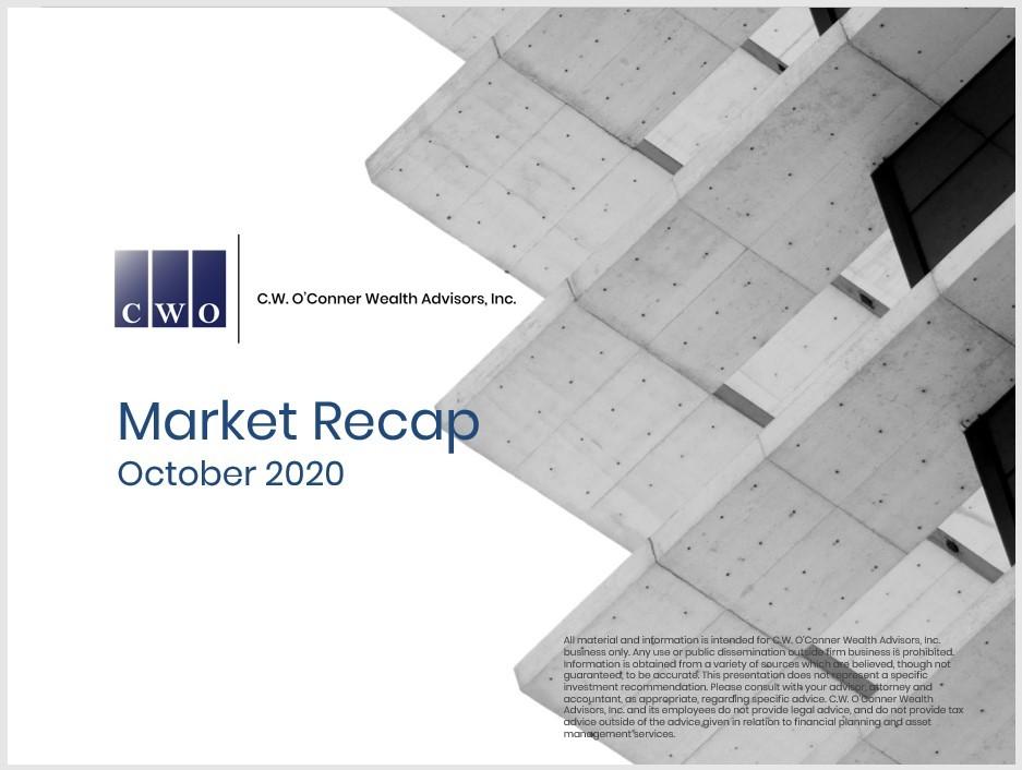cover of market recap