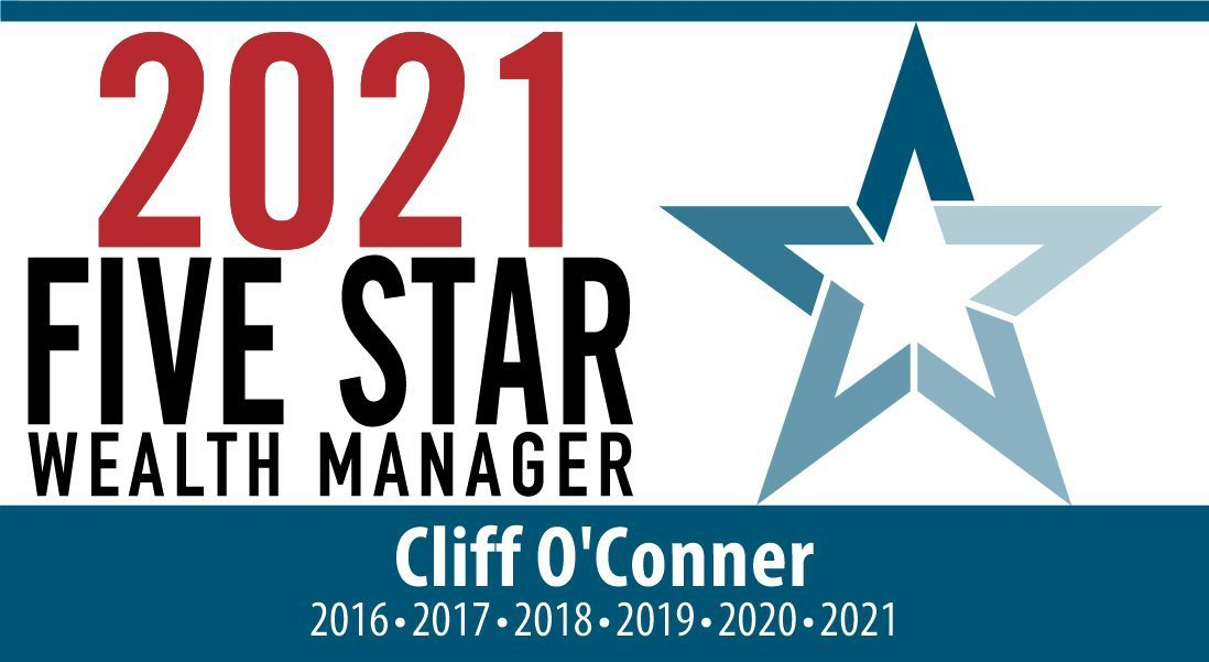 Cliff O'Conner - 2021 Five Star Wealth Manager